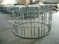 galvanized horse hay feeder