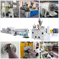 Plastic Pipe Manufacturing Machine HDPE PPR PVC Pipe Production Line