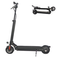 China new adult cheap folding fodable Two Wheel Kick Standing electric scooter, balance skateboard