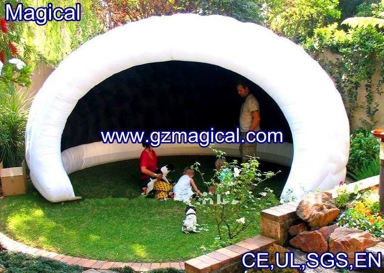 backyard party igloo inflatable luna tent