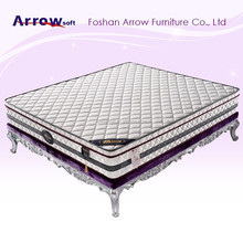 Modern twin size high density memory foam mattress for 5 star hotel furniture