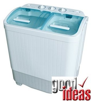 Mini Portable Twin Tub Washing Machine-Wash-n-Spin Timer-889/658