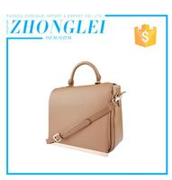 Lightweight Custom Printed Logo Shoulder Artificial Leather For Bags