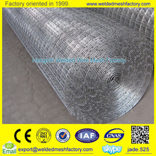Standard size heavy strength easy cutting galvanized welded wire mesh