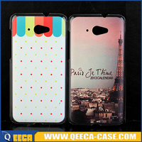 Custom printed hard plastic back cover case for lenovo s930