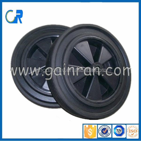 factory direct Manufacture low price 12 inch solid rubber wheel