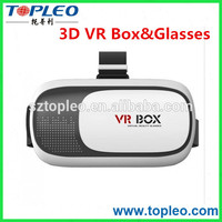 2016 For 3D Movies and Games Cardboard VR BOX 2 3D Glasses For Cell Phone