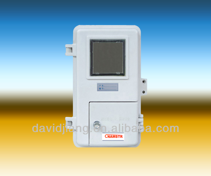 SMC/DMC single phase 1 gang Electric Meter Box