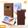 Alibaba TOP Selling Folio Flip case for Samsung S6 with Card Slot,for Samsung Galaxy S6 leather cover