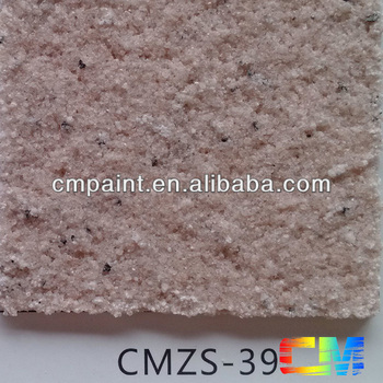 CMZS-39 Acrylic resin waterproof natural stone granite texture exterior and interior wall coating
