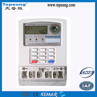 Single Phase Prepayment Keypad Electronic Power Meter Energy Meter Watt-hour Meter