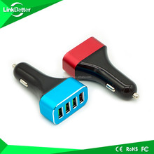 QC2.0 Quick Charge 2.0 48W 5V/9.6A Smart 4 USB Car Charger with 4-Port Intelligent Charging Port
