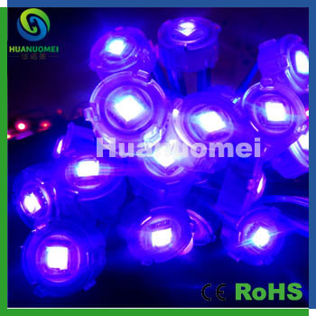 D20mm led point module 1 chip Diffused dc5V 1903 rgb led piels string programable FREE SHIPPING