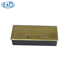 Hot sale copper waterproof electrical outlets floor box