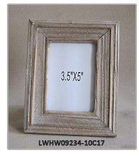Golden Wood Antique Elegant Picture Frame