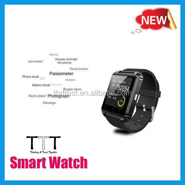 Smart watch phone Touch screen android 4.4 Dual SIM 3G, cheap price of smart watch phone