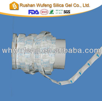silica gel roll desiccant for medicine packing use