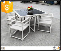 High quality outdoor lowes wicker patio cube set furniture factory direct wholesale AWRF6118B
