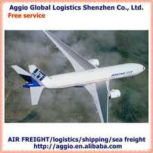 Air freight and express forwarder for new style stainless steel jewelry