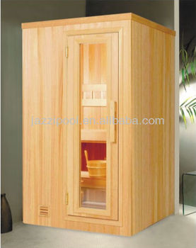 jazzi mini sauna wooden bath room buy mini steam room sauna steam room outdoor sauna rooms. Black Bedroom Furniture Sets. Home Design Ideas