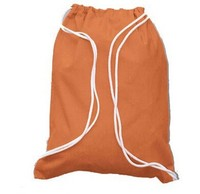 Pure Color Wholesale Cotton Fabric Fabric Unisex Drawstring Bag