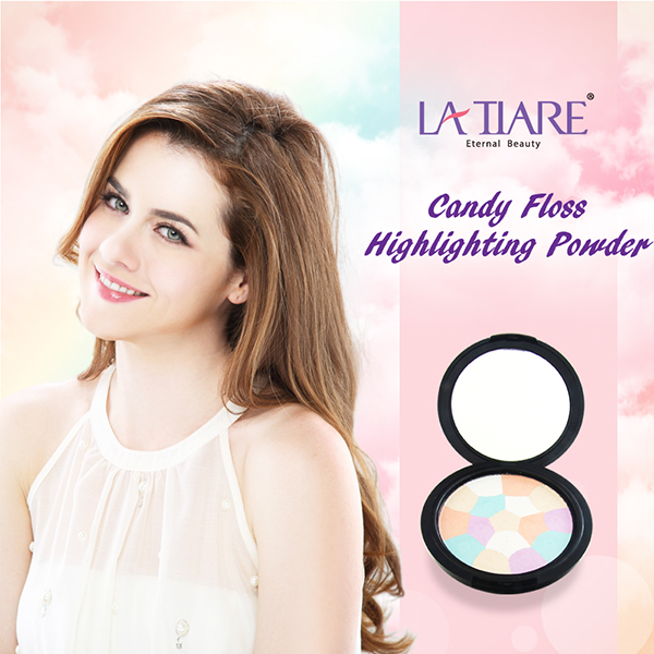 Face highlighter makeup private label