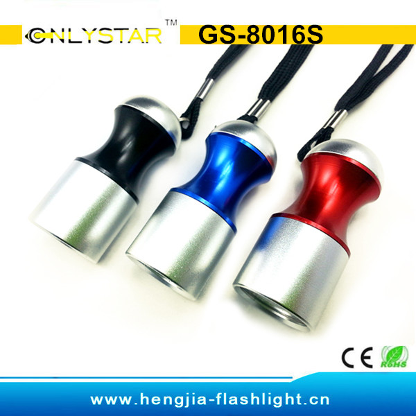 GS-8016S mini high quality cool promotional led light torch