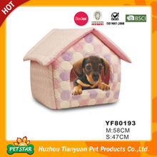 Direct Factory Supply House Shape Pet Dog Bed