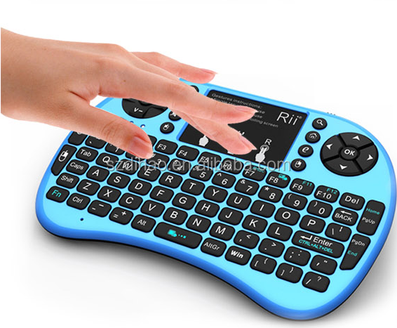DIHAO i8+ 2.4G TV remote control 2.4G wireless mini keyboard and Fly Air mouse Touchpad for PC Android TV Box
