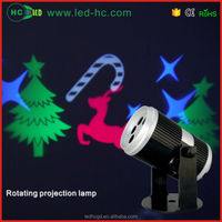 Creative products led rotating light with dynamic pattern,mini projector light,Party decoration