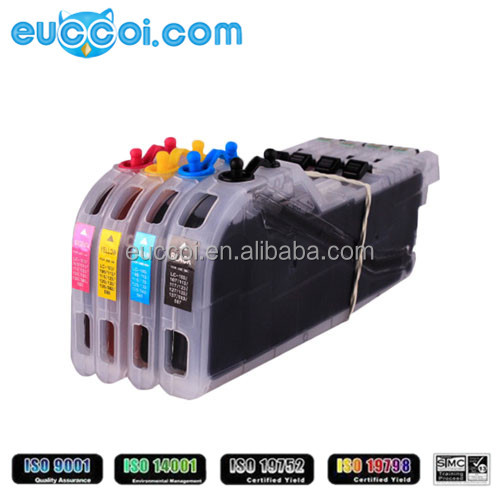 Discount ink LC223 BKCMY original grade remanufactured quality ink cartridge for Brother MFC-J 5620/4620/4625/5625/4420 DW