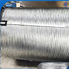 low carbon galvanized steel wire for ship cable armoring