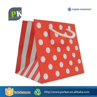 Luxury Fancy Colorful Gift Paper Shopping Bag