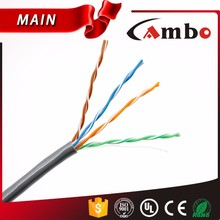 1000FT Unshild Twisted copper cat5e cable 0.51mm Solid CCA Conductor Suitable for 1000BASE-T