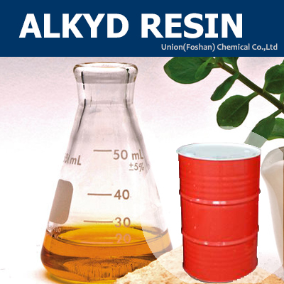 Alkyd resin for making wood paint lacquer