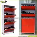 Modern living room furniture cabinet style shoe rack made in china