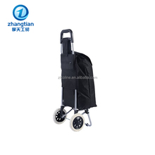 Professional Factory Supply foldable travel shopping trolley bag