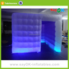 New product used cheap led 3d inflatable photo booth for sale