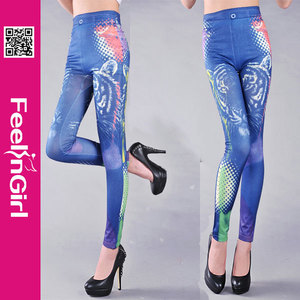 wholesale cheap womens leggings galaxy animal print hot girls in sexy leggings photo