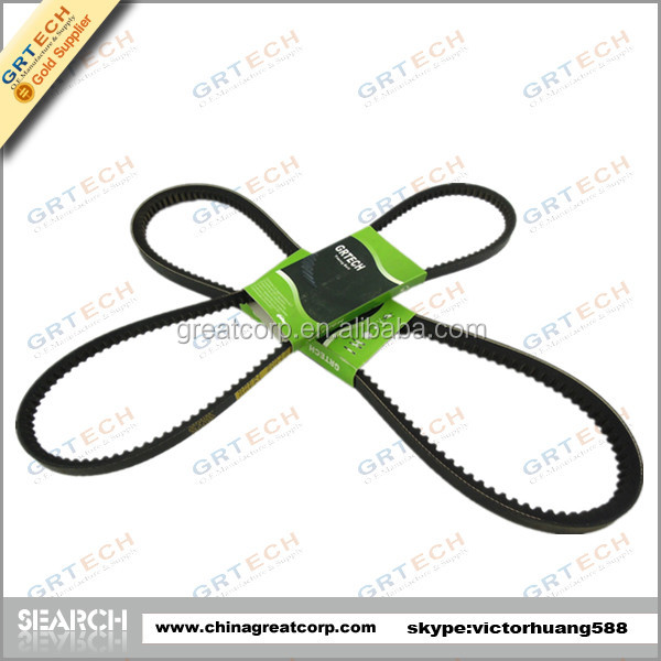 AV9.5x813Li High quality rubber v-belt with aramid fiber