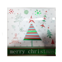 Wholesale Designer Christmas Tree Square Paper Gift Card Box