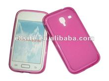 Pudding Frosted TPU Gel Case For SamSung i8160 Galaxy Ace 2
