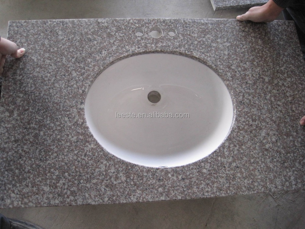 Good Quality Chinese G664 Antique Red Granite Countertop and Vanity top