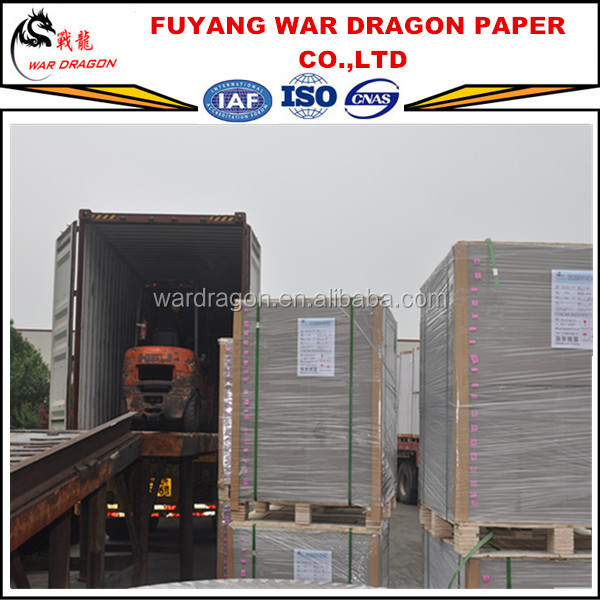 Duplex Paper Cardboard Sheets for Grey Book Binding Board