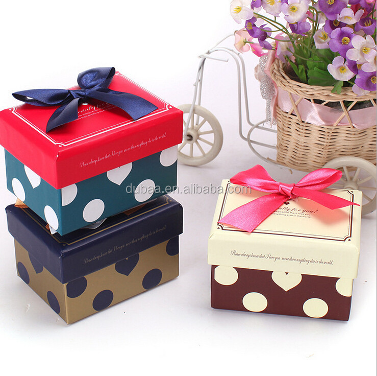 2015 Caja de Regalo China Manufacturer Luxury Promotional Paper Gift Box for Packaging