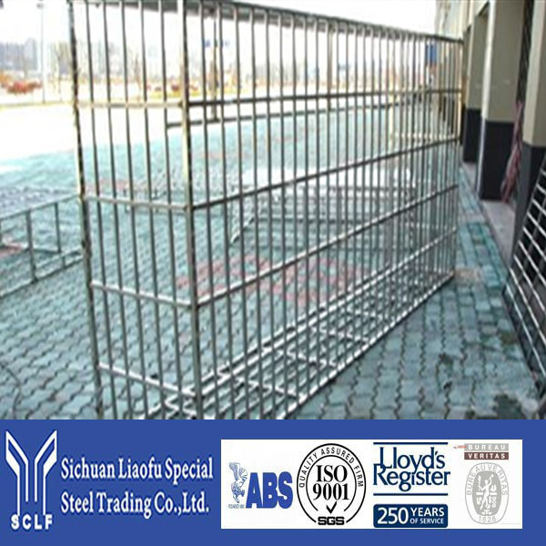 Direct Factory Price Stainless Steel Chrome Metal Fences With A Series Of Sizes
