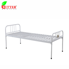 Cheap Iron spraying used Flat Hospital Bed crib for sale