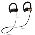 Long distance metal 110mAh battery capacity bluetooth earphone for running