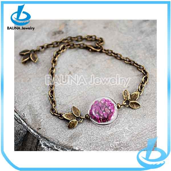 Wholesale unique living plain floating pendant necklace high quality garnet vintage locket chain bracelet