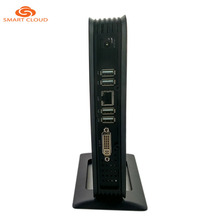 Fanless Dual Lan Thin Client Pc model mini computer